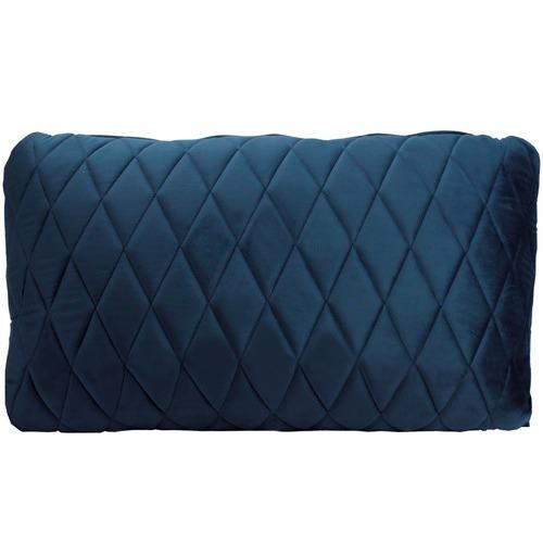 Coco Diamond Stitch Velvet Cushion