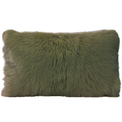 Park Avenue Rectangular Goat Fur Cushion