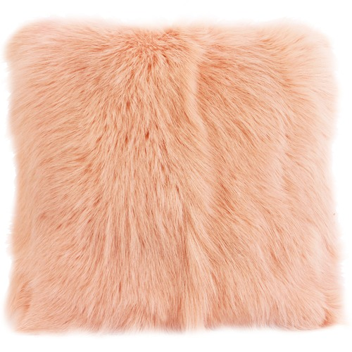 Park Avenue Square Goat Fur Cushion