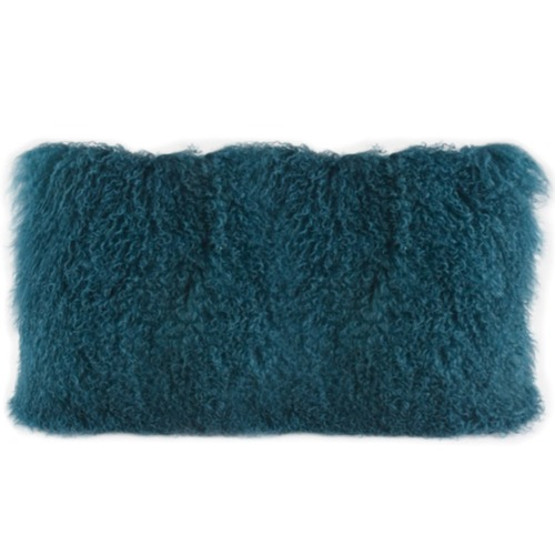 Park Avenue Rectangular Tibetan Lambswool Cushion