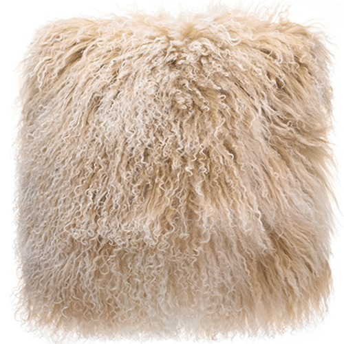Park Avenue Snowflake Tibetan Lambswool Cushion