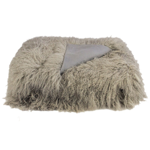 Park Avenue Ayesha Tibetan Fur Throw