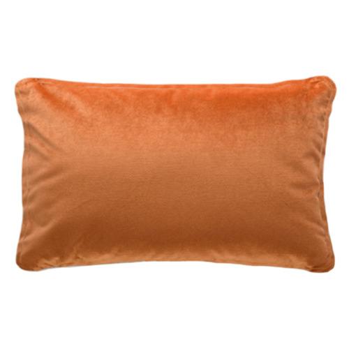 Gorcazany Piped Rectangular Velvet Cushion