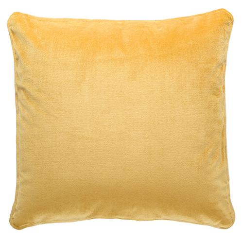 Park Avenue Laine Piped Square Velvet Cushion
