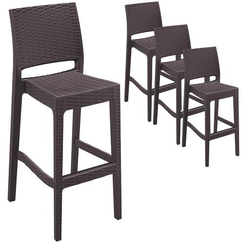 Furnlink 75cm Jasmina Outdoor Barstools