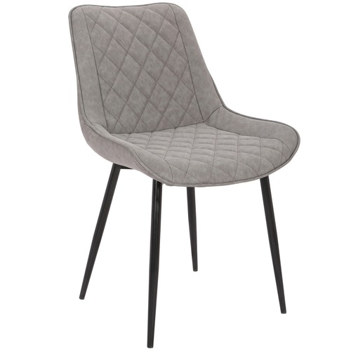Lyon Faux Leather Dining Chairs