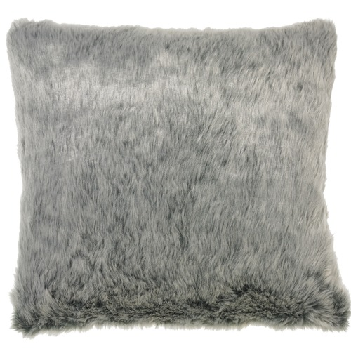 Rapee Silver Aspen Faux Fur Cushion