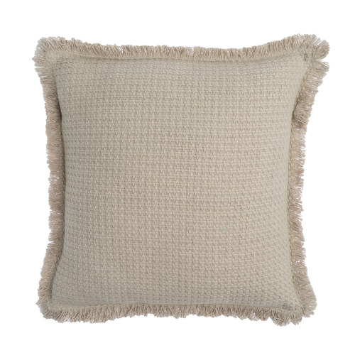 Rapee Fringed Fray Cotton Cushion