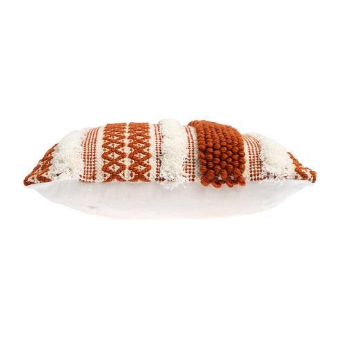 Rapee Woven Stripe Pebble Cushion