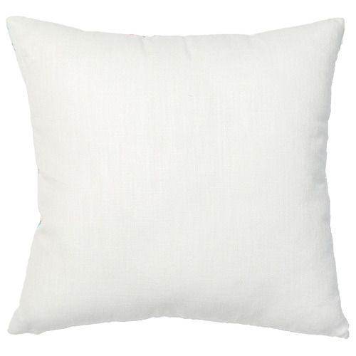 Rapee Multi-Coloured Salsia Linen-Blend Cushion