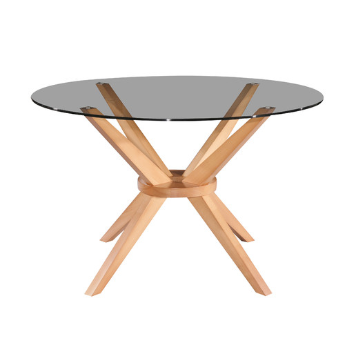Oslo Home 120cm Beech Banza Round Dining Table Amp Reviews