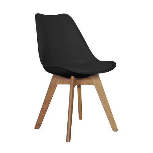 Oak & Black Kent Dining Chair