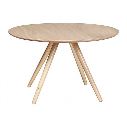 Black Hilda Round Dining Table