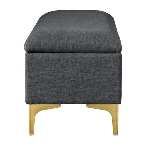 Oslo Home Lizbeth Upholstered Storage Bench