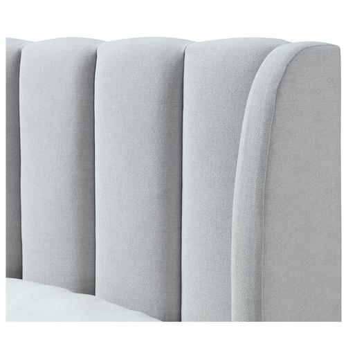 Oslo Home Lizbeth Fabric King Bed Frame