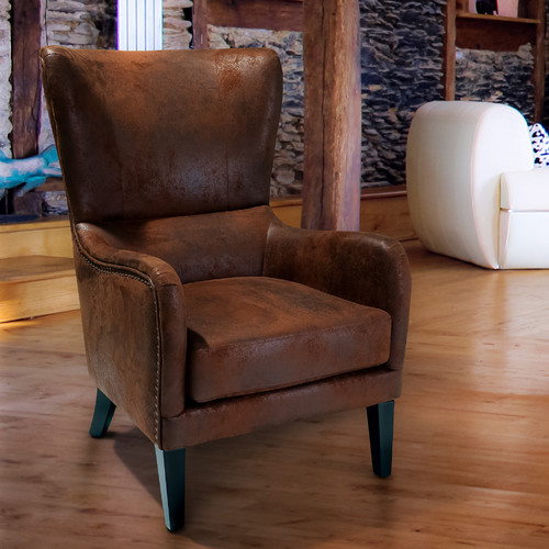 Sky Blue Furniture Genoa Rustic Armchair Amp Reviews