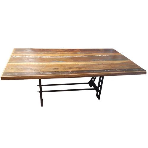 sc 1 st  Temple \u0026 Webster & Industrial Reclaimed Wood Dining Table | Temple \u0026 Webster