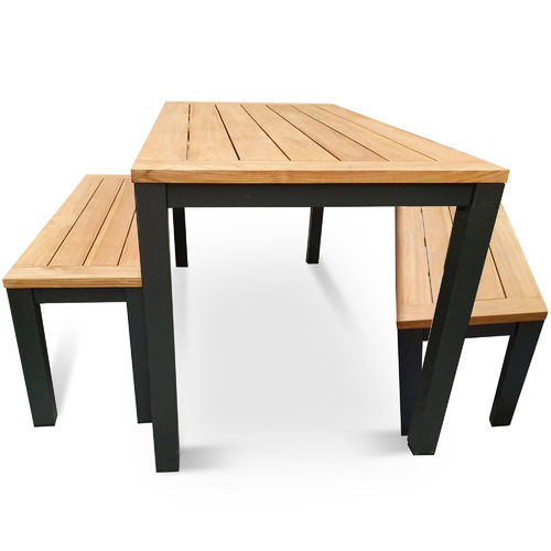 Vibrant Living 4 Seater Madrid Outdoor Dining Set