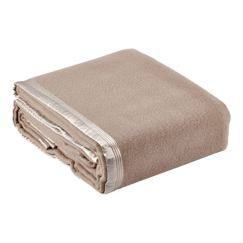 Bianca Mocha Australian Wool Blanket