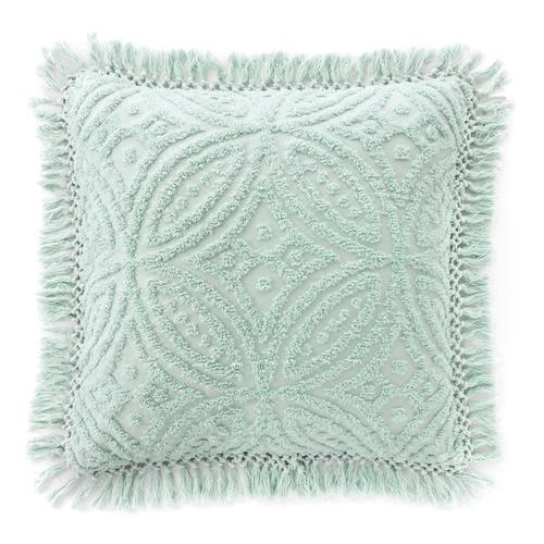 Bianca Spearmint Kalia Cotton European Pillowcase