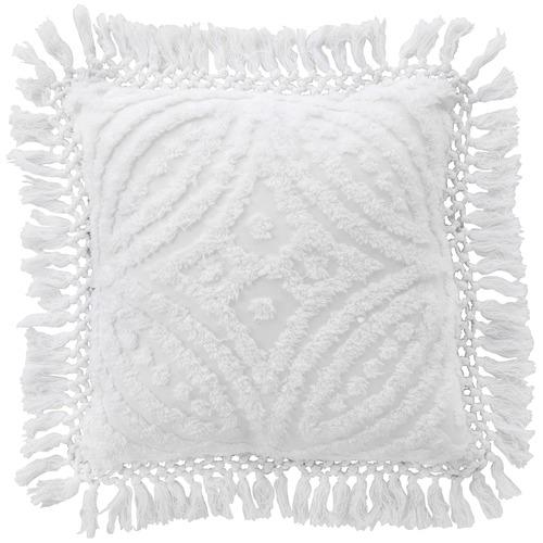 Bianca White Kalia Cotton Cushion
