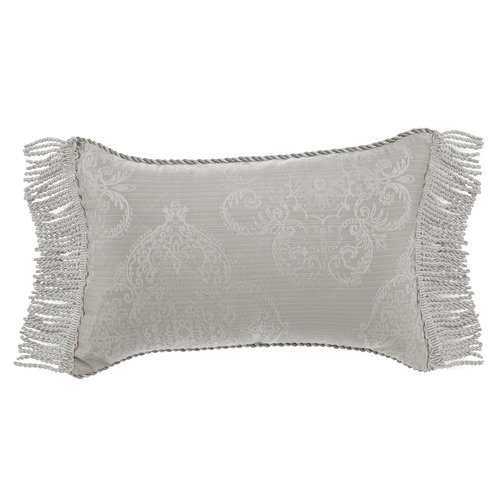 Bianca Silver Eleanor Rectangular Cushion