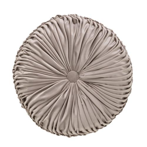 Taupe Balerno Round Cushion