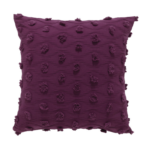 Bianca Prune Xenia Cotton Cushion