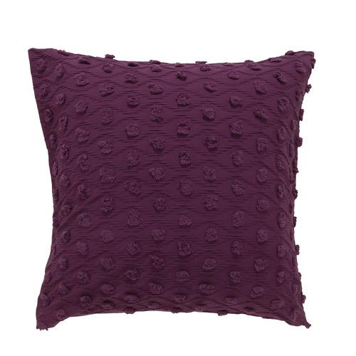 Bianca Prune Xenia Cotton European Pillowcase
