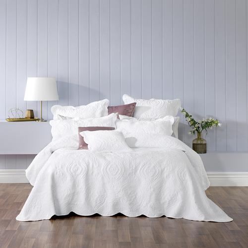 Bianca White Cordelia Bedspread Set