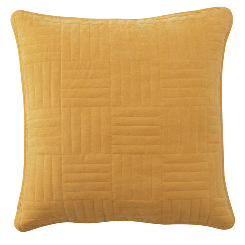 Bianca Mustard Raymond European Pillowcase