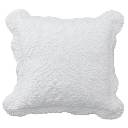 White Cordelia Cushion