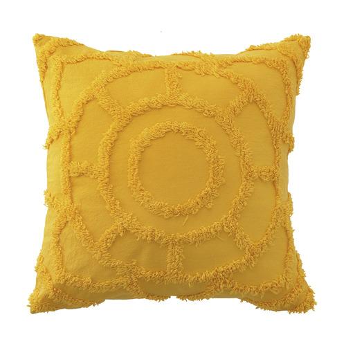 Bianca Mustard Kelsey Cushion