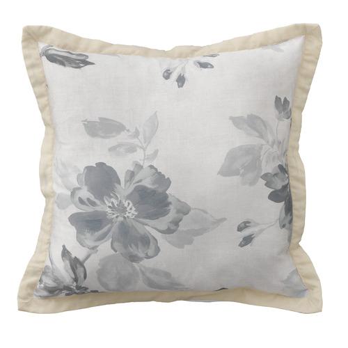 Bianca Grey Rosetta Cotton Cushion
