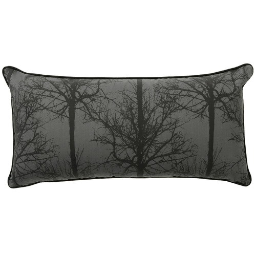 Bianca Black Alpine Deer Rectangular Cushion