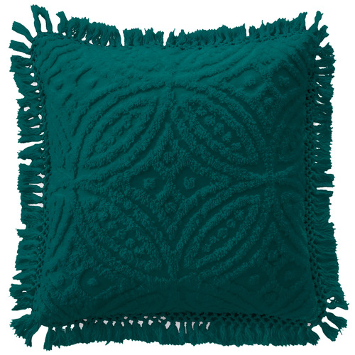 Bianca Teal Savannah Cotton Cushion