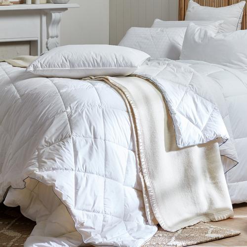 Bianca Cream Australian Wool Blanket