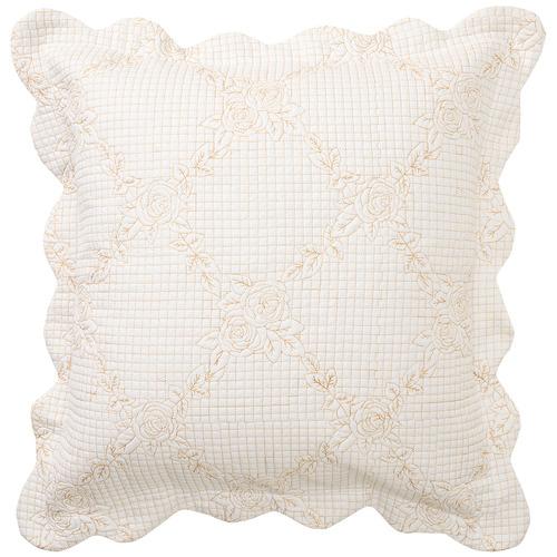 Ecru Belle Matching Cushion