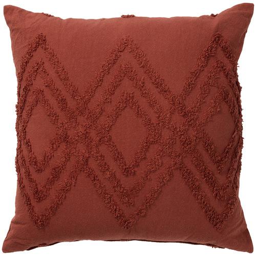 Bianca Terracotta Jaipur Cotton Chenille Cushion