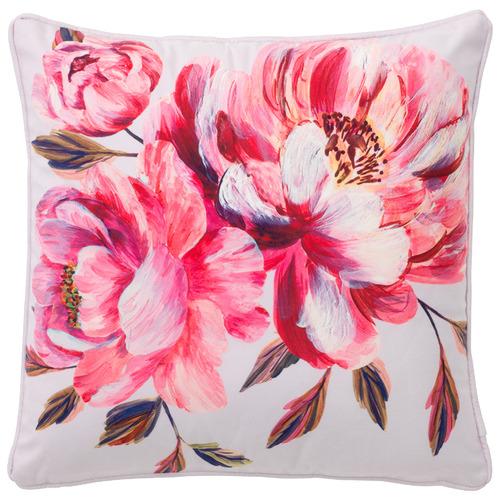 Navy Firenze Velvet Cushion