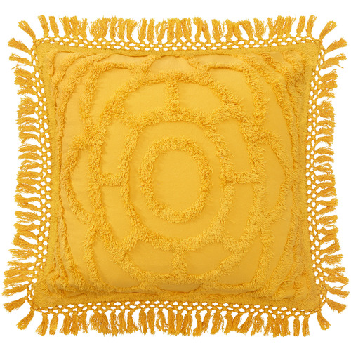Mustard Santorini Matching Cotton Cushion