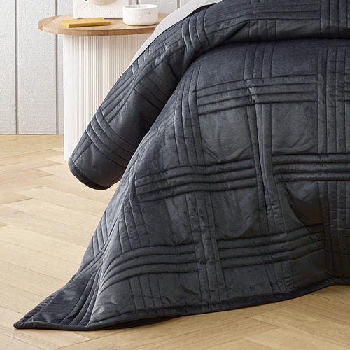Charcoal Dayton Coverlet Set