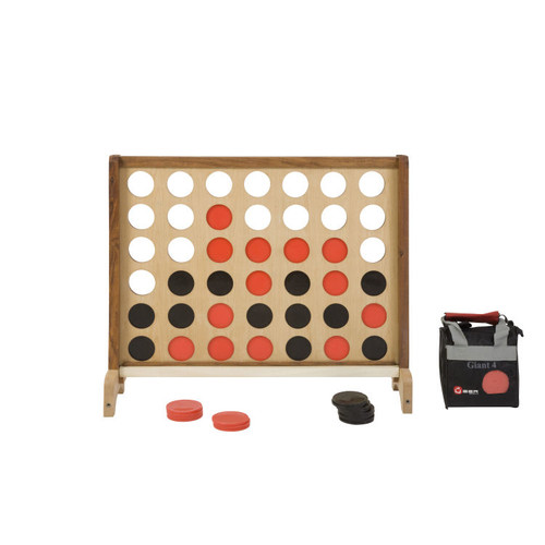 Yardgames Giant Wooden Connect 4 Game