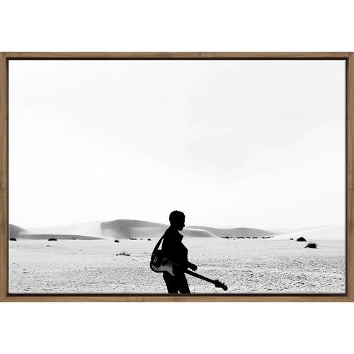 Art Illusions Desert Guitar Canvas