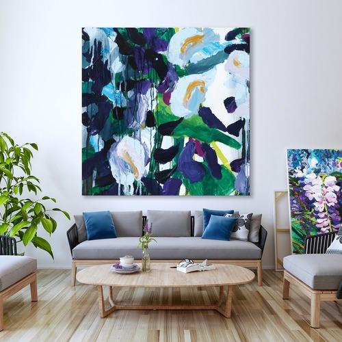 Art Illusions Wisteria 4 Canvas Wall Art