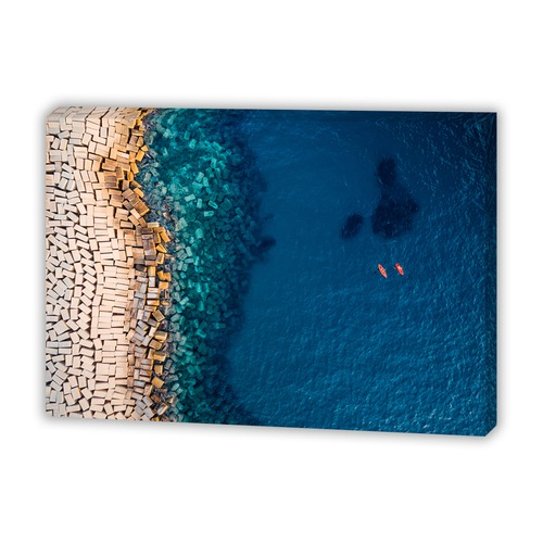 Art Illusions From Above II Canvas Wall Art