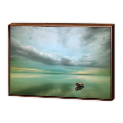 Art Illusions Boat Canvas Wall Art