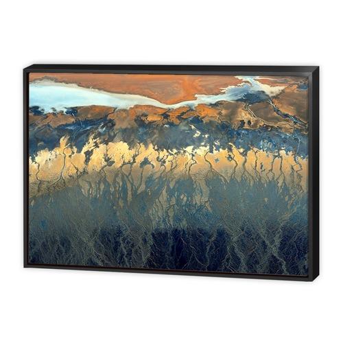 Art Illusions California Aerial Canvas Wall Art