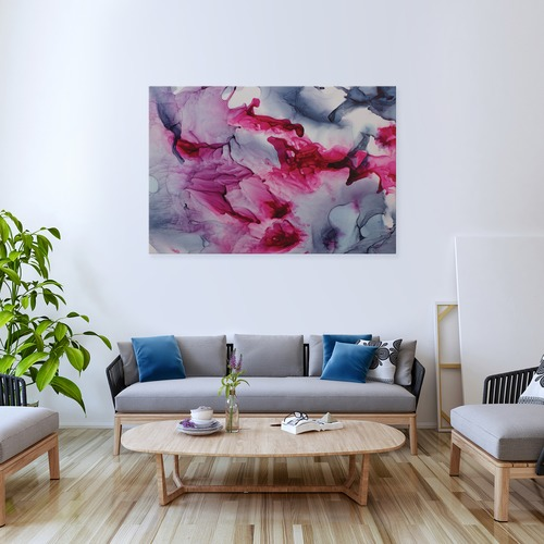 Art Illusions Love Canvas Wall Art by Emma Thomas