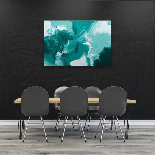 Art Illusions Carnival Blue Canvas Wall Art